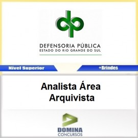 Apostila DPE RS 2017 Analista Arquivista Download