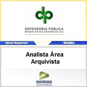 Apostila DPE RS 2017 Analista Arquivista Download