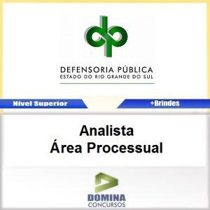 Apostila Concurso DPE RS 2017 Analista Processual