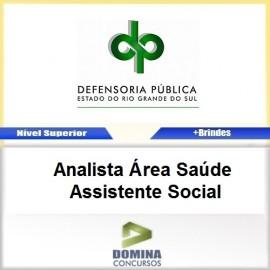 Apostila DPE RS 2017 Analista Assistente Social