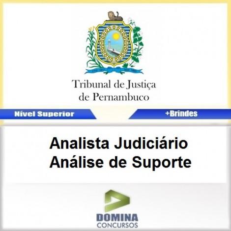 Apostila TJ PE 2017 Analista JUD Análise de Suporte