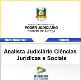Apostila TJ RS 2017 ANA Judiciário Jurídicas e Sociais