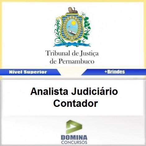 Apostila TJ PE 2017 Analista Judiciário Contador