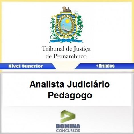 Apostila TJ PE 2017 Analista Judiciário Pedagogo