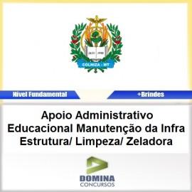 Apostila Colniza MT 2017 Limpeza Zeladora PDF