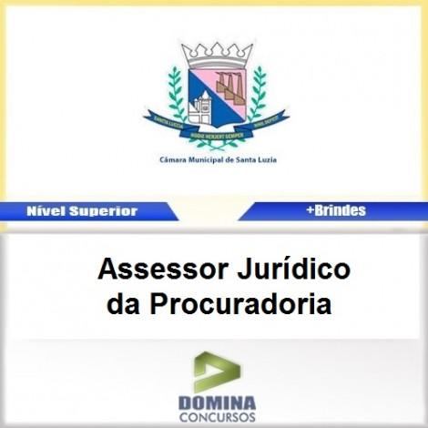Apostila Santa Luzia MG Assessor JUD da Procuradoria