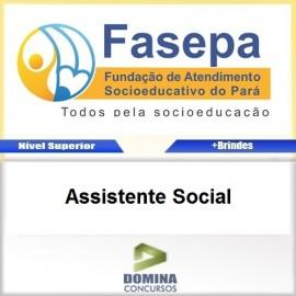Apostila Concurso FASEPA 2017 Assistente Social