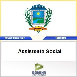 Apostila Concurso Barbalha CE 2017 Assistente Social