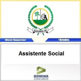 Apostila Açailândia MA 2017 Assistente Social