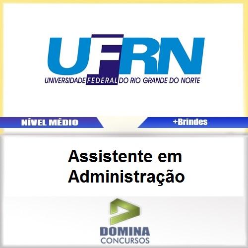 Apostila UFRN 2017 Assistente em Administração