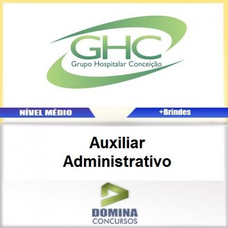 Apostila Concurso GHC 2017 Auxiliar Administrativo PDF