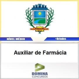 Apostila Barbalha CE 2017 Auxiliar de Farmácia