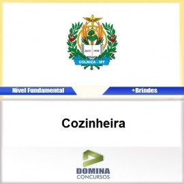 Apostila Concurso Colniza MT 2017 Cozinheira PDF