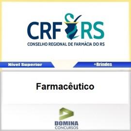 Apostila Concurso CRF RS 2017 Farmacêutico