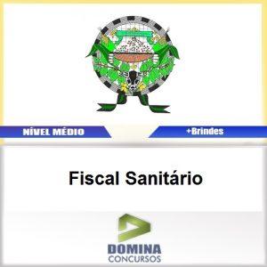 Apostila Alto Rio Novo ES 2017 Fiscal Sanitário