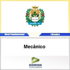 Apostila Concurso Colniza MT 2017 Mecânico PDF