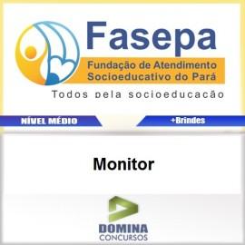 Apostila Concurso FASEPA 2017 Monitor PDF