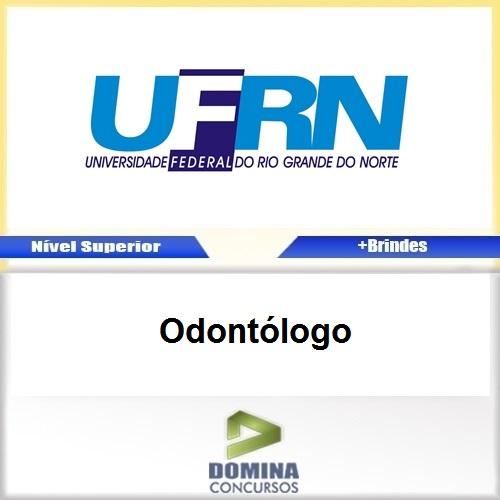 Apostila UFRN 2017 Odontólogo Download