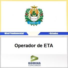 Apostila Colniza MT 2017 Operador de ETA