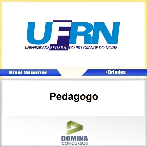 Apostila Concurso UFRN 2017 Pedagogo PDF