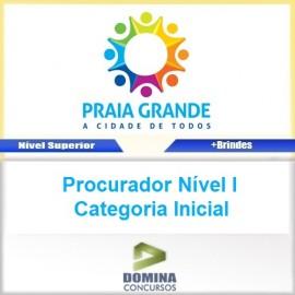 Apostila Praia Grande SP 2017 Procurador Nível I Inicial