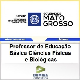 Apostila SEDUC MT 2017 PROF Ciências Físicas Biológicas
