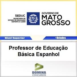 Apostila SEDUC MT 2017 Professor de Espanhol