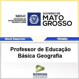 Apostila SEDUC MT 2017 Professor de Geografia