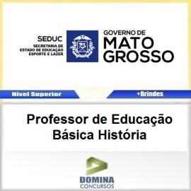 Apostila SEDUC MT 2017 Professor de História