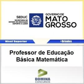 Apostila SEDUC MT 2017 Professor de Matemática