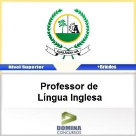 Apostila Açailândia MA 2017 PROF de Língua Inglesa