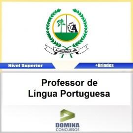 Apostila Açailândia MA 2017 PROF Língua Portuguesa