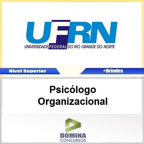 Apostila Concurso UFRN 2017 Psicólogo Organizacional