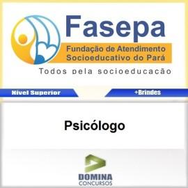 Apostila Concurso FASEPA 2017 Psicólogo