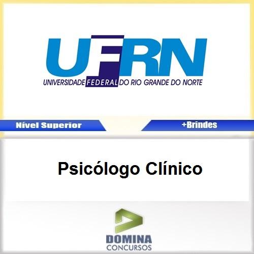 Apostila Concurso UFRN 2017 Psicólogo Clínico