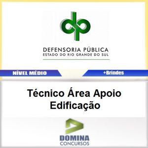 Apostila DPE RS 2017 Técnico Área Edificação Download