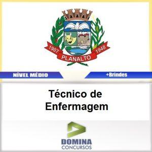 Apostila Planalto SP 2017 Técnico de Enfermagem