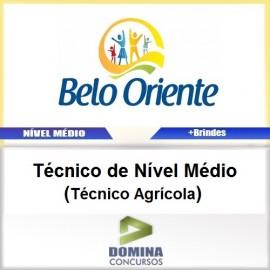 Apostila Belo Oriente MG 2017 Técnico Agrícola PDF