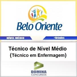 Apostila Belo Oriente MG 2017 Técnico em Enfermagem