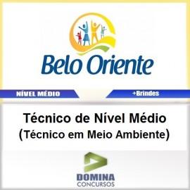 Apostila Belo Oriente MG 2017 Técnico Meio Ambiente