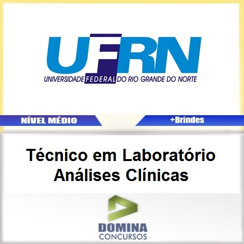 Apostila Concurso UFRN 2017 TEC LAB Análises Clínicas