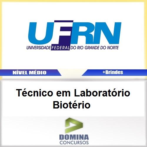 Apostila Concurso UFRN 2017 TEC Laboratório Biotério