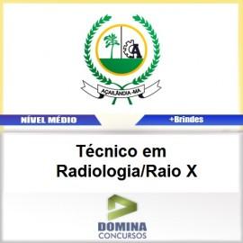 Apostila Açailândia MA 2017 Técnico Radiologia Raio X