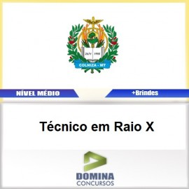 Apostila Colniza MT 2017 Técnico em Raio X Download