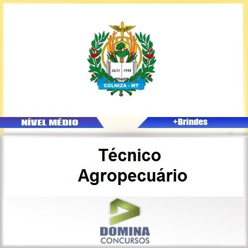 Apostila Concurso Colniza MT 2017 Técnico Agropecuário