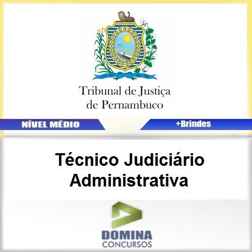 Apostila TJ PE 2017 Técnico Judiciário Administrativa