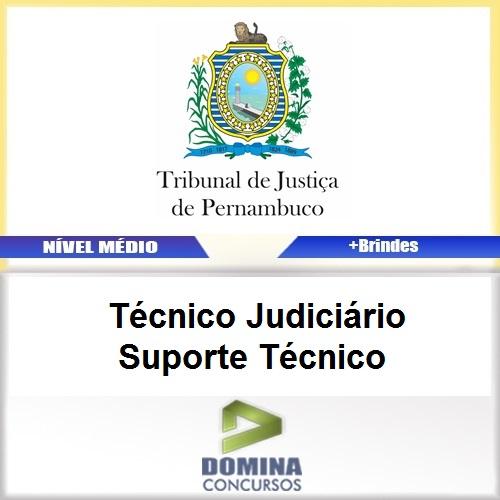 Apostila TJ PE 2017 Técnico Judiciário Suporte Técnico