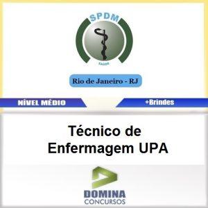 Apostila SPDM RJ 2017 Técnico de Enfermagem UPA