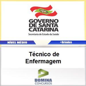 Apostila SES SC 2017 Técnico de Enfermagem PDF