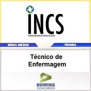 Apostila INCS SP 2017 Técnico de Enfermagem